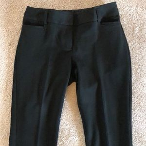 Express Mid Rise Columnist Pants